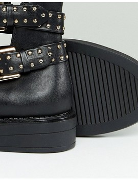 Truffle Collection Stud Buckle Boot by Boots