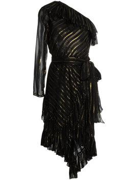 One Shoulder Silk Blend Dress by Philosophy Di Lorenzo Serafini