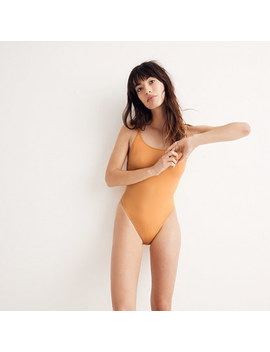 J.Crew Playa Newport Scoopback One Piece Swimsuit by Madewell