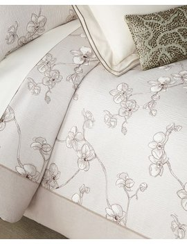 Orchid Full/Queen Duvet by Michael Aram