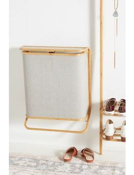Bamboo Hamper by Anthropologie