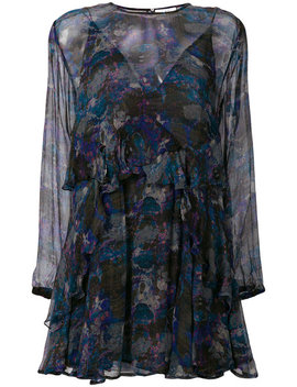 Abstract Print Sheer Dress by Iro