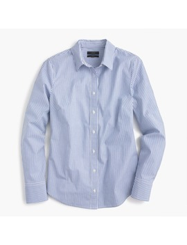 Slim Perfect Shirt In Striped Stretch Cotton by J.Crew
