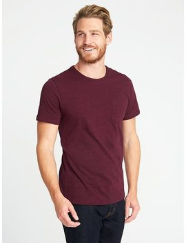Soft Washed Slub Knit Pocket Tee For Men by Old Navy
