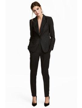 Anzughose Mit Nieten by H&M
