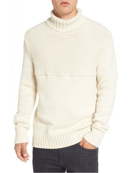 Ribbed Turtleneck Sweater by French Connection