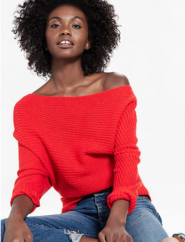 Off Shoulder Sweater by Lucky Brand