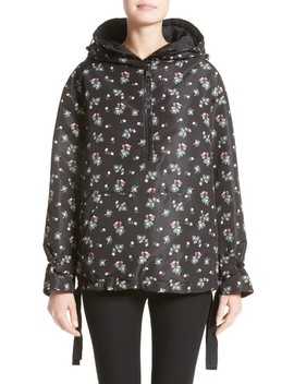 Mirtus Floral Print Down Jacket by Moncler