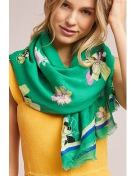 Merindah Floral Scarf by Anthropologie