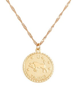 Jewelry Ascending Zodiac Medallion Necklace by Cam