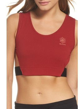 Elevated French Terry Sports Bra by Reebok