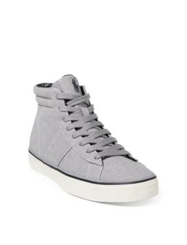 Shaw Chambray High Top Sneaker by Ralph Lauren
