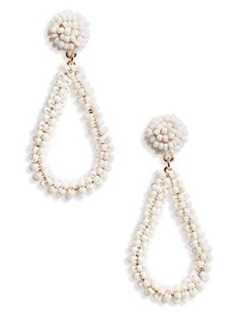 Bead Drop Earrings by Panacea