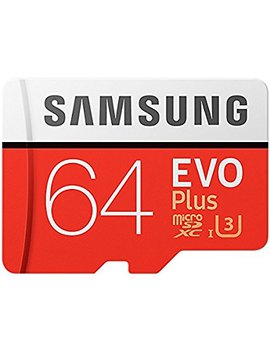 Samsung 64 Gb 100 Mb/S Memory Evo Plus Micro Sd Card With Adapter by Samsung Mobile Uk