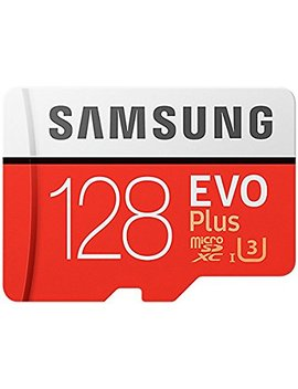 Samsung Mb Mc128 Ga/Eu Memory Evo Plus 128 Gb Micro Sd Card With Adapter by Samsung Mobile Uk