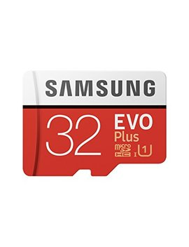 Samsung 32 Gb 95 Mb/S Memory Evo Plus Micro Sd Card With Adapter by Samsung Mobile Uk