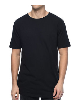 Zine Split Black T Shirt by Zine