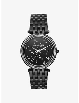 Darci Celestial Pavé Black Tone Watch by Michael Kors