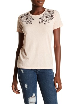 Two Roses Tee by Lucky Brand