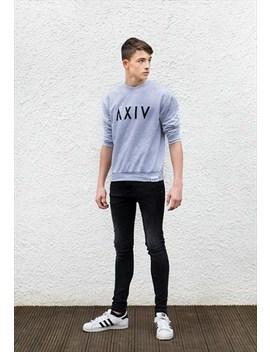 Classic Grey Buuren Sweatshirt by Alexander Ivy