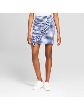 Women's Ruffled Gingham Skirt   Xhilaration™ Blue by Xhilaration™