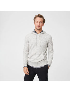 Donegal Cashmere Hoodie by Club Monaco