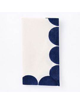 Hand Blocked Geo Napkins (Set Of 4) by West Elm