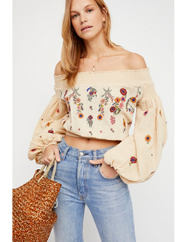 Saachi Smocked Top by Free People
