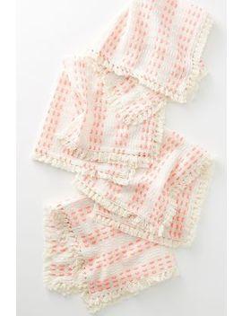 Rori Yarn Dyed Napkin Set by Anthropologie