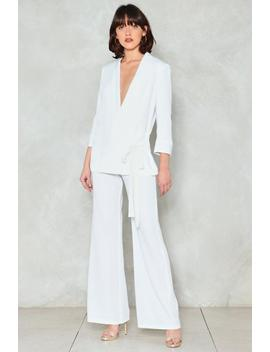 On Your Toes Wide Leg Pants by Nasty Gal