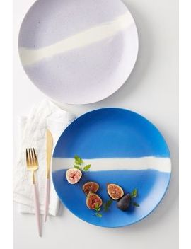 Colour Study Dinner Plate by Anthropologie
