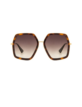 Oversize Square Frame Metal by Gucci