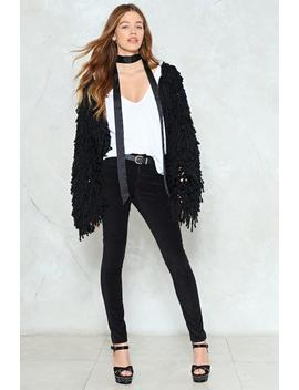 Just A Touch More Velvet Jeans by Nasty Gal