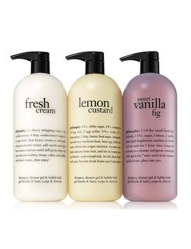 Philosophy Favorites Super Size Shower Gel Trio by Qvc