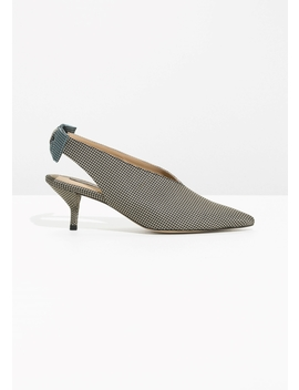 Kitten Heel Slingback Pumps by & Other Stories