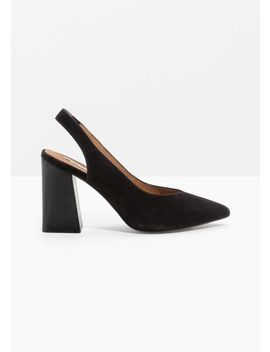 Pointed Sligback Pumps by & Other Stories