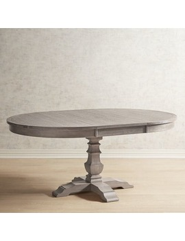 Shadow Gray Extension Dining Table by Bradding Collection
