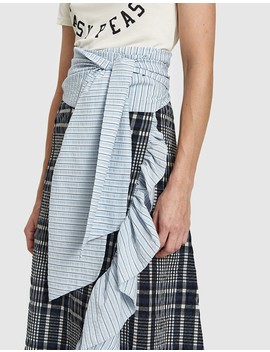 Charron Wrap Skirt by Need Supply Co.