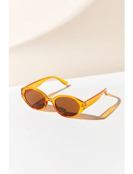 Osaka Oval Sunglasses by Urban Outfitters