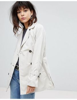 Vero Moda Trench Jacket With Shoulder Detail by Vero Moda