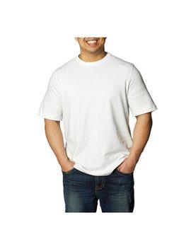 Kirkland Signature Men's Crew Neck T Shirt, White by Kirkland Signature