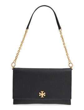 Kira Leather Clutch by Tory Burch
