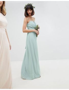 Tfnc Bandeau Maxi Bridesmaid Dress by Tfnc