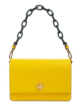 Kira Leather Shoulder Bag by Tory Burch
