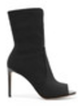 Hugger Stretch Knit Sock Boots by Stuart Weitzman