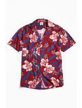 Insight Mutiny Rayon Short Sleeve Button Down Shirt by Insight