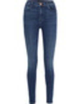 "Carolina 32"" High Rise Skinny Jeans by J Brand"