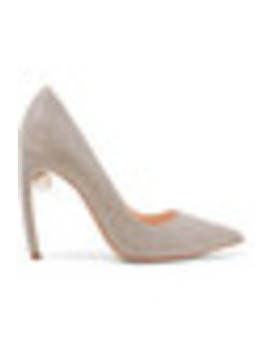 Mira Embellished Textured Lamé Pumps by Nicholas Kirkwood