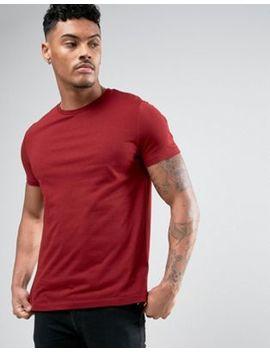 Asos – Rotes T Shirt Mit Rundhalsausschnitt by Asos