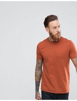 Asos – T Shirt Mit Rundhalsausschnitt In Orange by Asos
